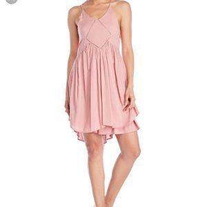 Romeo and Juliet blush spring dress